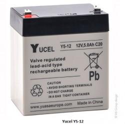 Batterie YUASA gel 12V 5Ah